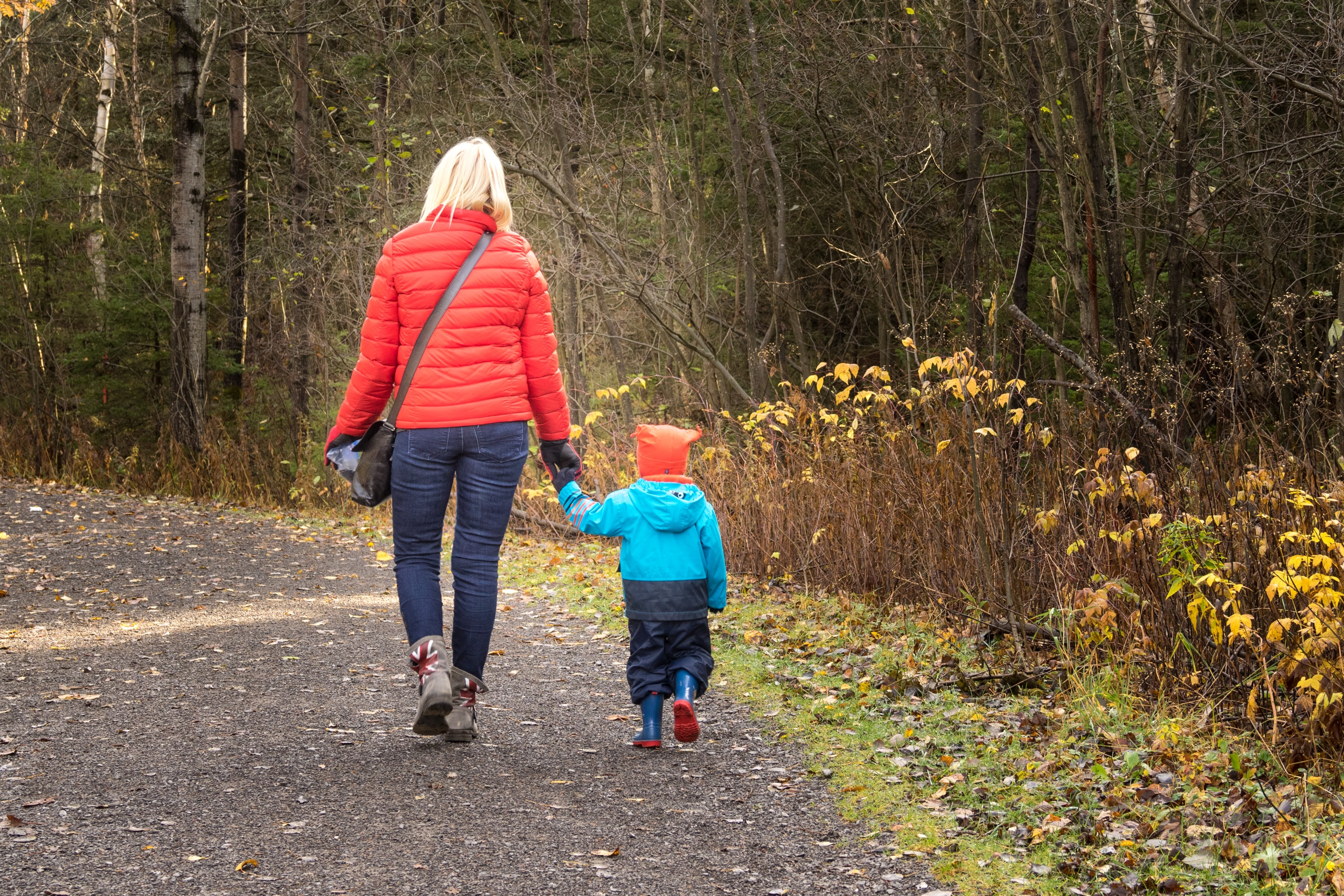 8 things to do on a walk with kids